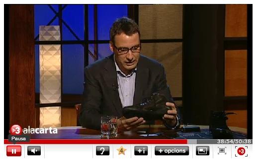 Zapatos con gps un invento de Xavier Verdaguer